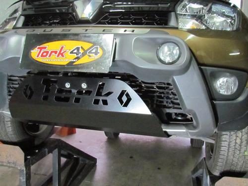 kit protetor duster 4x4 2016+ (com prot tanque)