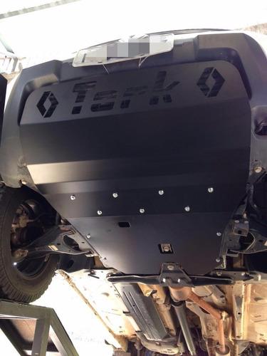 kit protetor duster 4x4 até 2015 (cárter, peito de aço)
