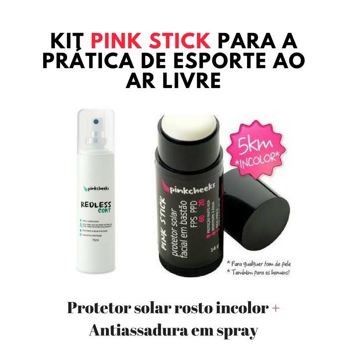 Kit Protetor Solar Facial E Antiassadura Pink Cheeks - R  136 4df8b017424b6