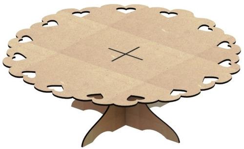 kit provençal decoração de festas 7 peças +1 mdf - kit-06-11