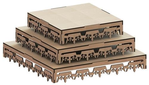 kit provençal decoração de festas 7 peças +1 mdf - kit-07-12