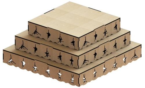 kit provençal decoração de festas 8 peças +1 mdf - kit-08-15