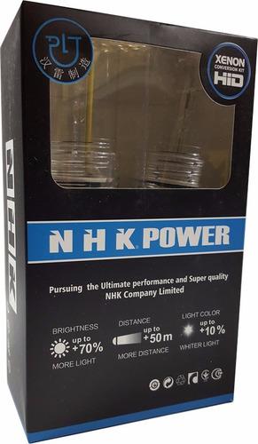 kit proyectores nhk mini h1 7.0 2,5 bixenon lupa original