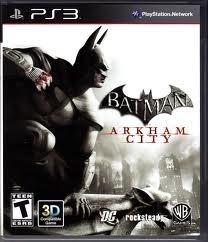 kit ps3 batman arkham city 3d + asylum 3d + frete só r$9,99