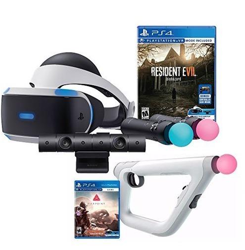 Kit Ps4 Realidad Virtual Full 2 Juegos 18 000 00 En Mercado Libre