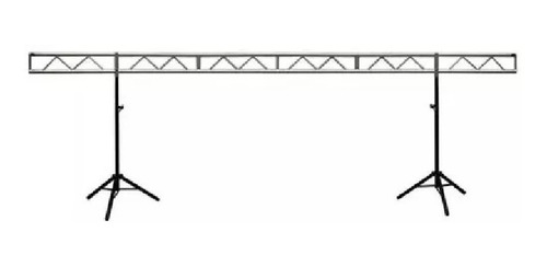 kit puente p/iluminación con estructura plana x6 mts. + 2 trípodes p708b
