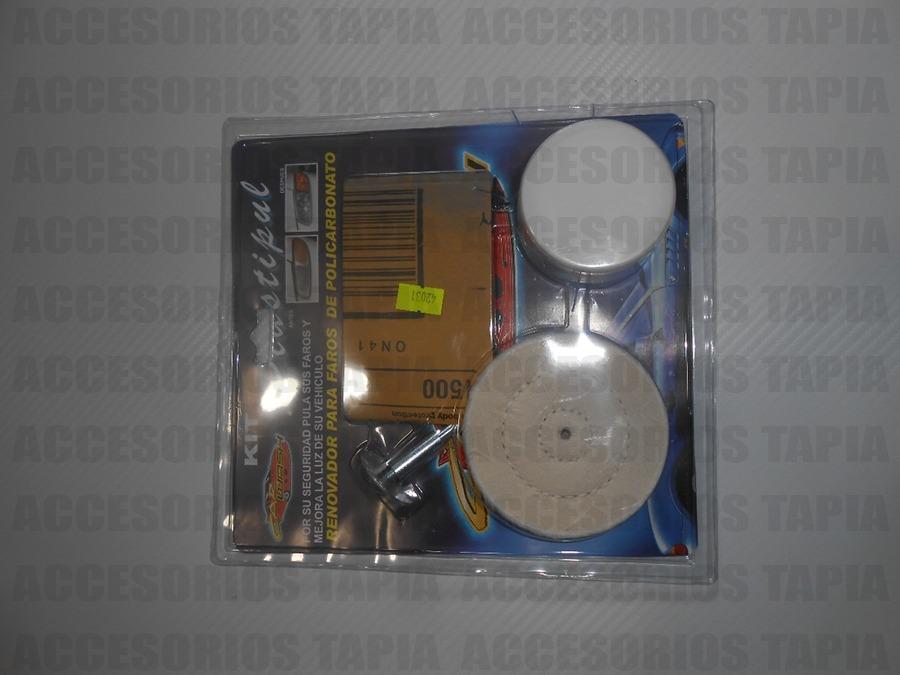 Kit Pulidor De Faros Y Calaveras Opacas 159 00 En