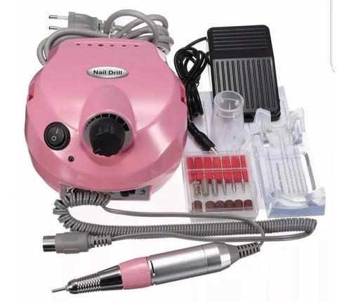 kit pulidor de uñas eléctrico profesional