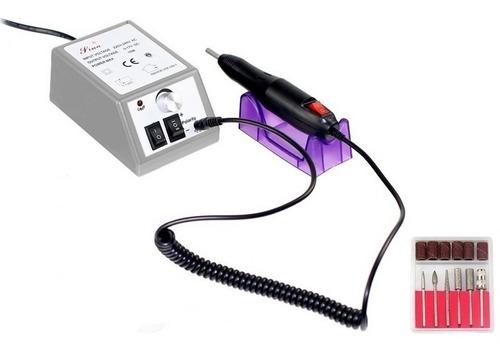 kit pulidor de uñas electrico removedor acrilico manicure