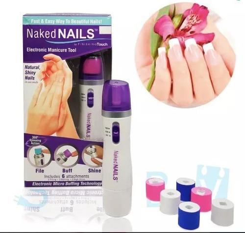 kit pulidor de uñas electronico manicure