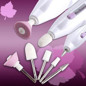 kit pulidor lima de uñas manicure belleza decoracion pila aa