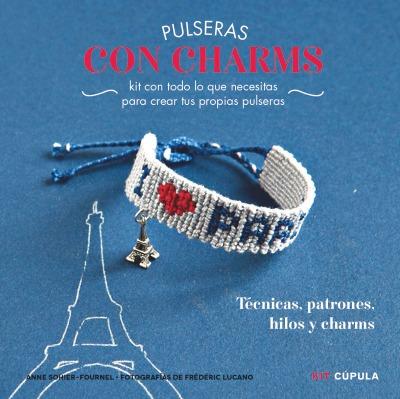 kit pulseras de charms(libro )