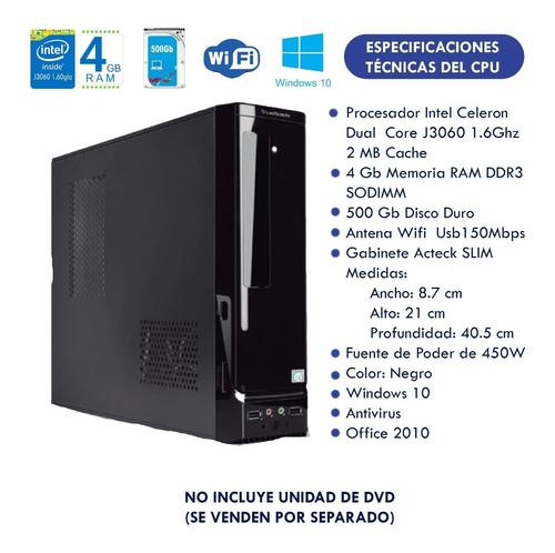 kit punto de venta completo 6  en 1 dual core 320dd 2gb ram