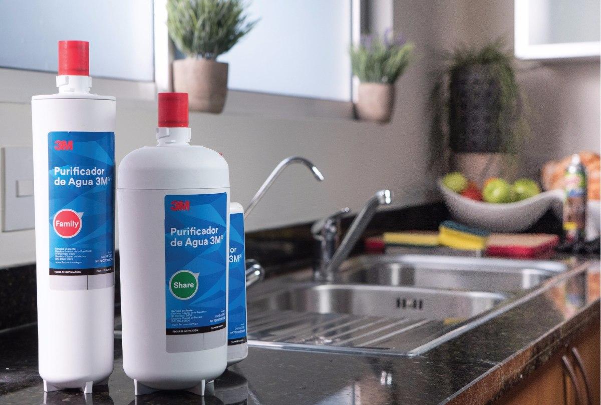 Kit purificador filtro agua modelo family con instalaci n - Purificador de cocina sin salida ...