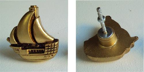 kit puxadores caravelas douradas, coloridos (05 pçs).