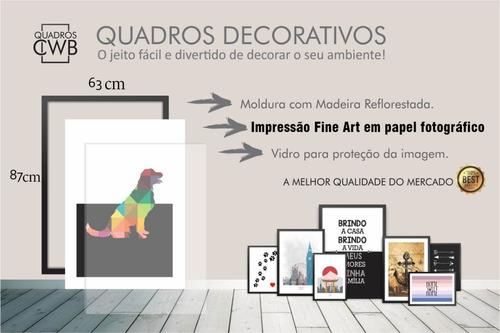 kit quadro decorativo sala grande amor significado 189x87