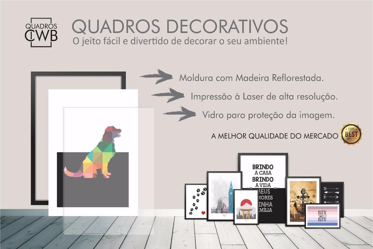Kit Quadros Decorativos Frases Motivacionais Grande Original