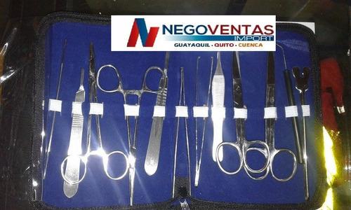 kit quirurjico de 9 y 12 piezas saturacion cirujia menor