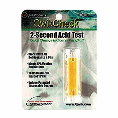 kit qwikcheck 2-segundo acid test