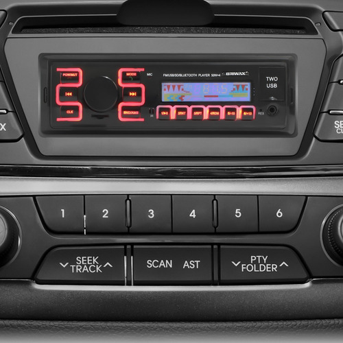 kit radio automotivo bluetooth carro sensor estacionamento