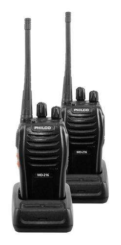 kit radiotransmisores portátiles   philco