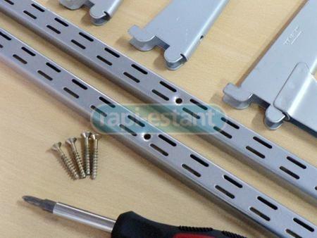 kit rapi estant mensula doble enganche 2x1,5mt + 6x27cm