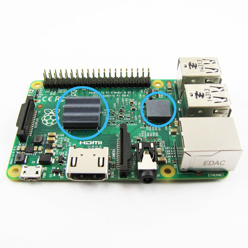kit raspberry pi 3 + dis + fuente 2.5a gabinete blanco orig