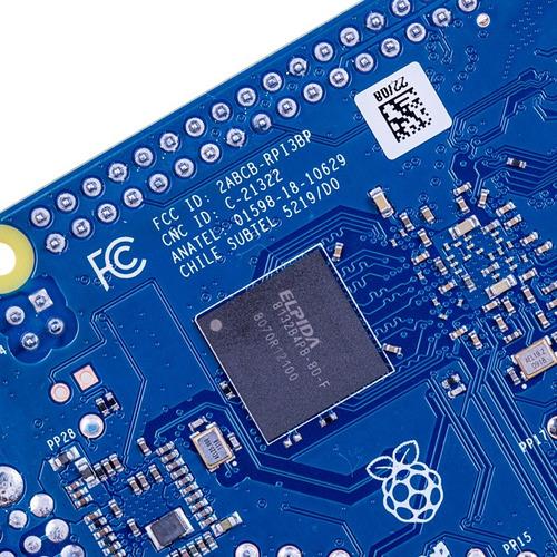kit raspberry pi 3 model b+ anatel + dissipadores