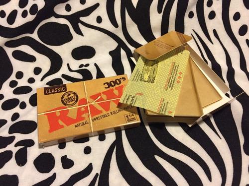 kit raw artesano; papel (sabanas) + filtros