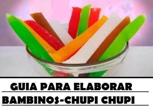 kit recetas helados chupis cremosos gelatinas citricos frios