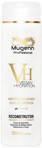 kit reconstrução vegana mugenn cosmeticos 5 produtos