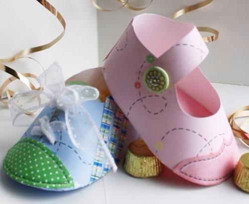kit recuerdos zapatitos baby shower tarjetas imprimibles