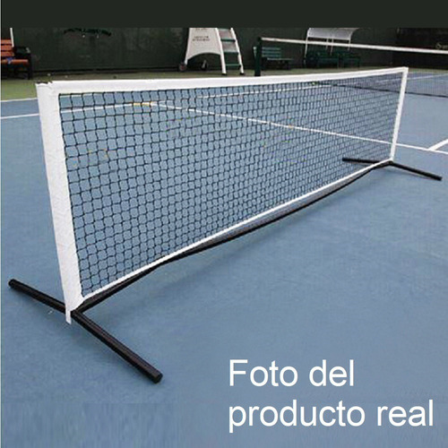kit red fútbol tenis 3.m desarmable soportes parantes bolso