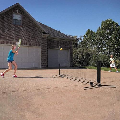 kit red mini tenis 4m entrenamiento desarmable parante bolso