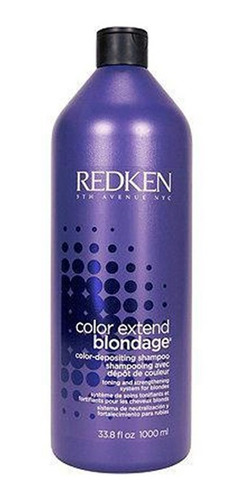 kit redken color extend blondage shampoo 1000ml + condiciona