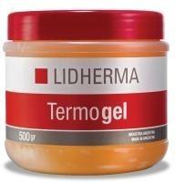 kit reductor intensivo lidherma crema adipofactor + termogel