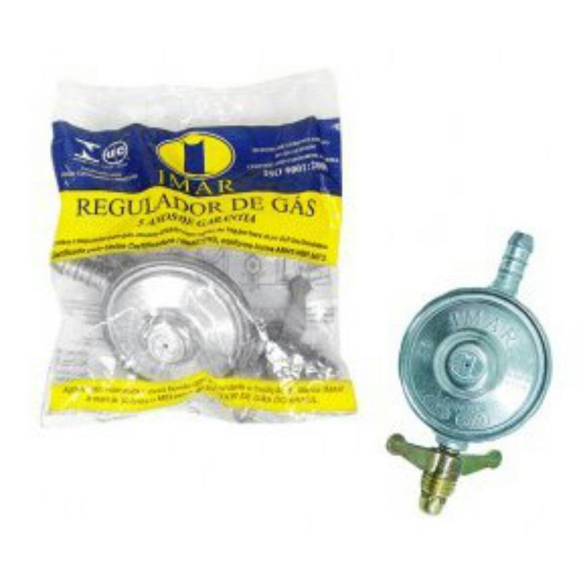 Kit registro regulador de g s c mangueira e abra adeira - Regulador de gas ...