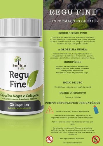 kit regu fine *original bem estar life com chá de brinde