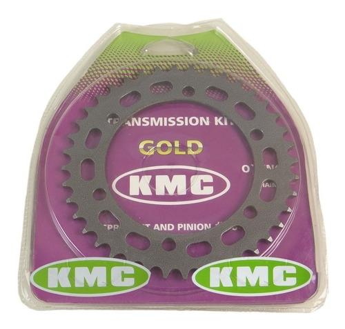 kit relação honda nx 400 falcon com retentor (kmc gold)