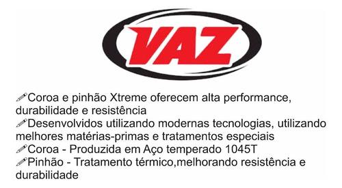 kit relação vaz did c/ retentor honda nx4 falcon