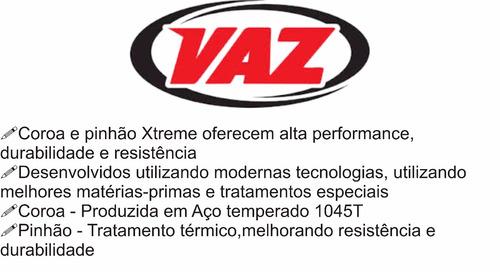 kit relação vaz did c/ retentor yamaha yzf-r3 r3 mt03 321