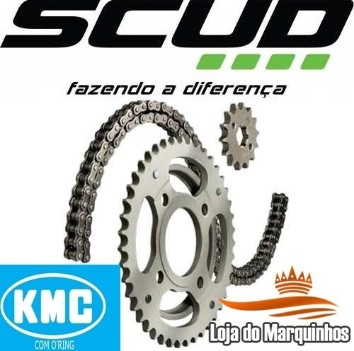 kit relação xtz 250 lander scud com o'ring kmc cod 10550009