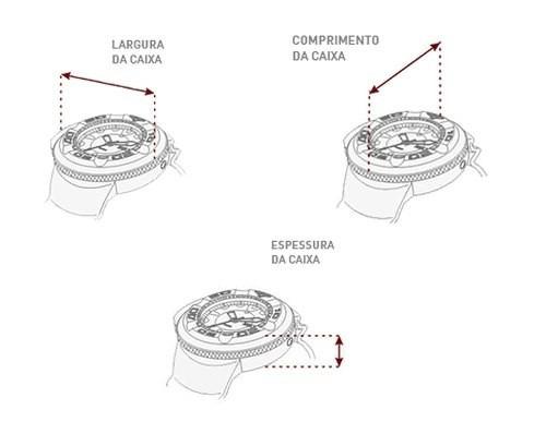 kit relógio allora feminino c/ colar e brincos al2035fbj/k4x