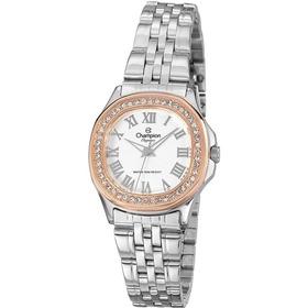 Kit Relógio Champion  Feminino Misto Brilhante Cn27330y