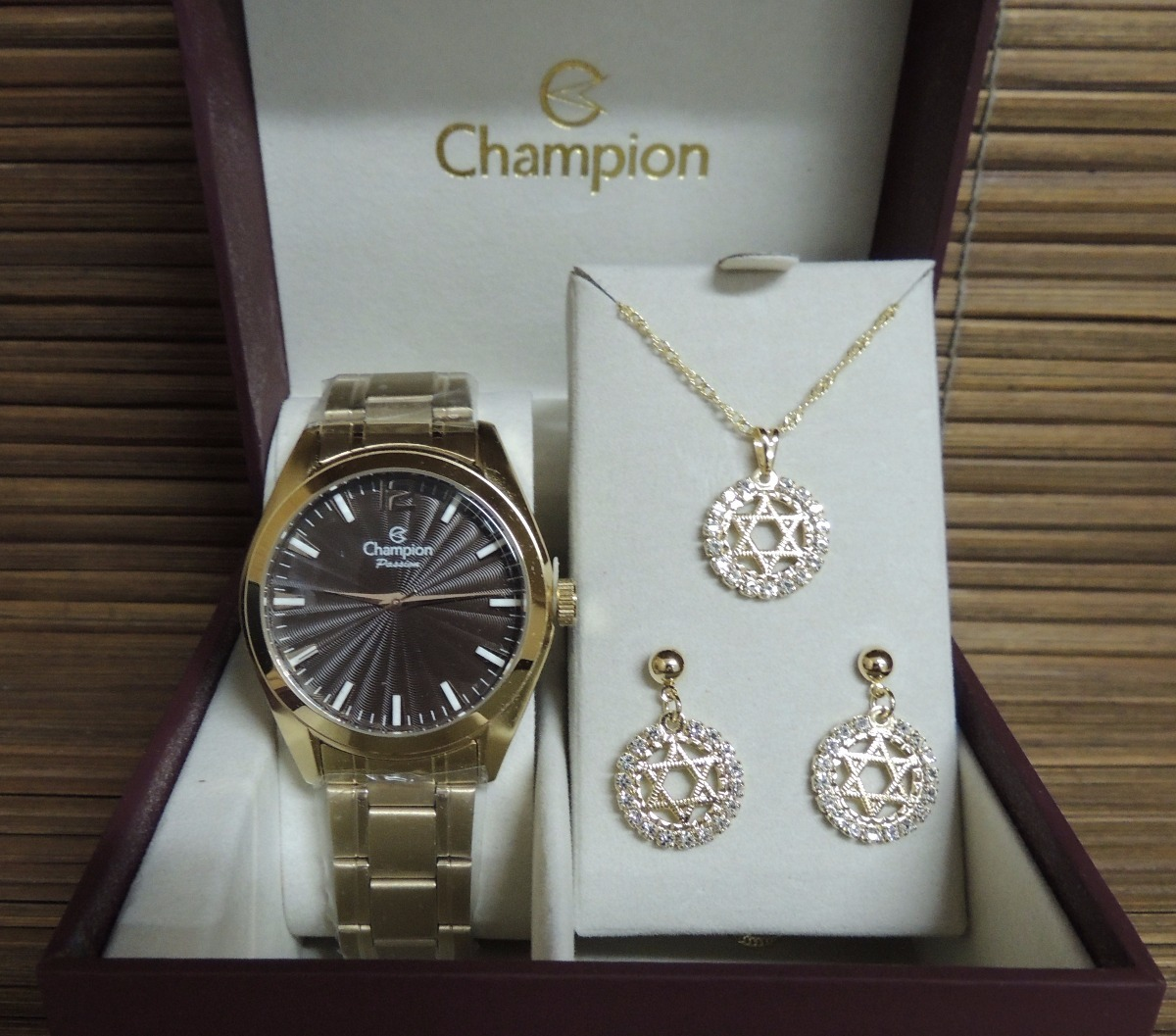 f6e23fd2113 kit relógio champion feminino passion cn29865j - nf e gar. Carregando zoom.