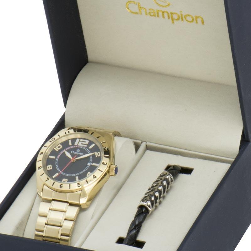 4e26e35cc27 kit relógio champion masculino sport ca30187x. Carregando zoom.