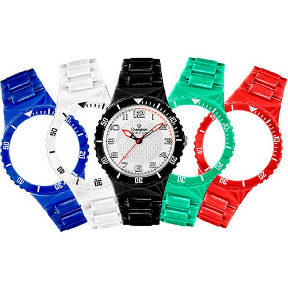 69a48265613 kit relógio champion troca pulseira cores frete grátis. Carregando zoom.