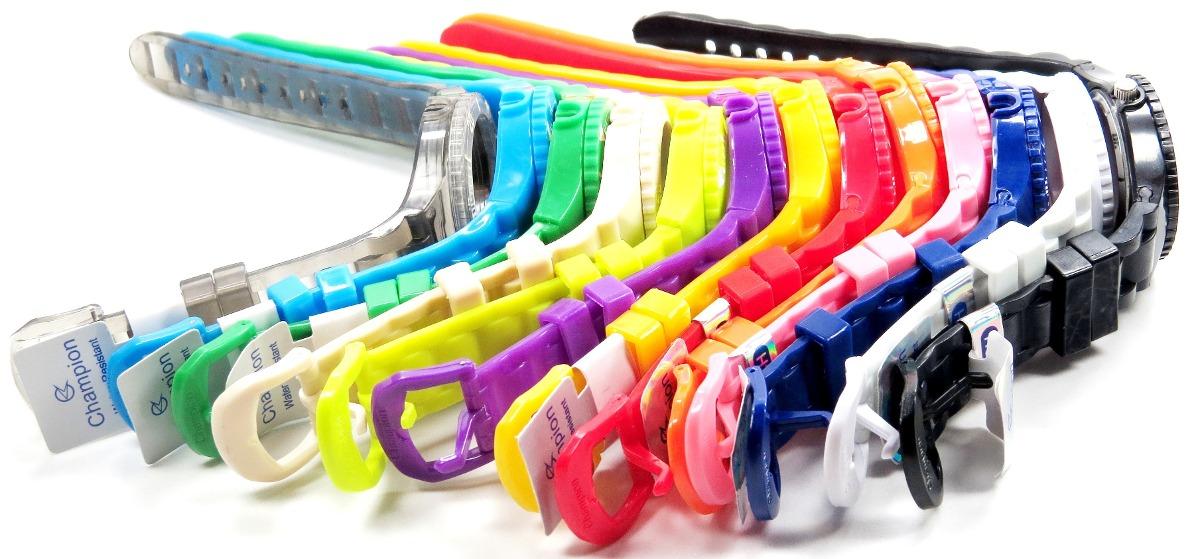 922415f3fd7 kit relógio champion troca pulseiras 5 cores pronta entrega. Carregando  zoom.