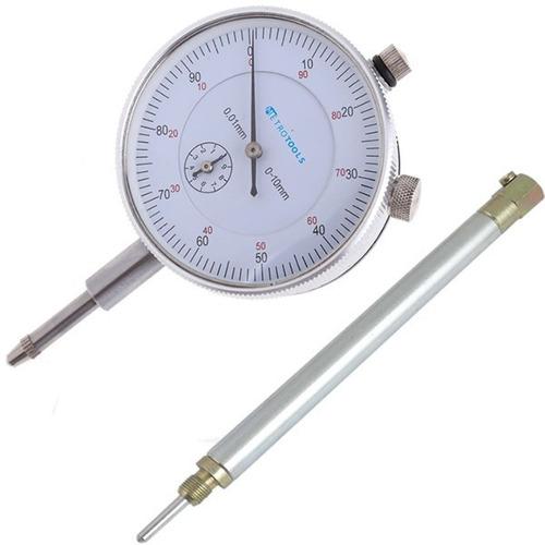 kit relógio comparador + suporte pms motores c/ frete grátis