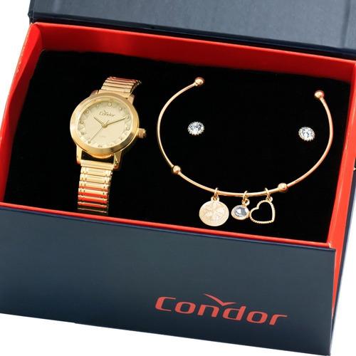 kit relógio condor feminino barato garantia nfe